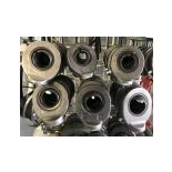 Cylinder eyes on sliding bearing and grease nipple type C - for shaft
