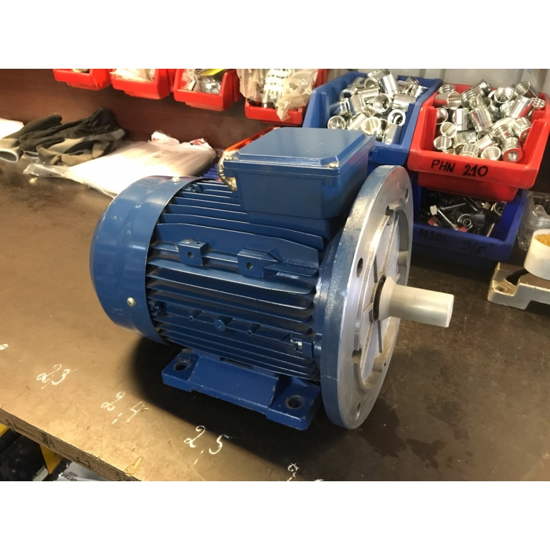 Electric motor with flange 2,2 KW (3HP) 1500 rpm