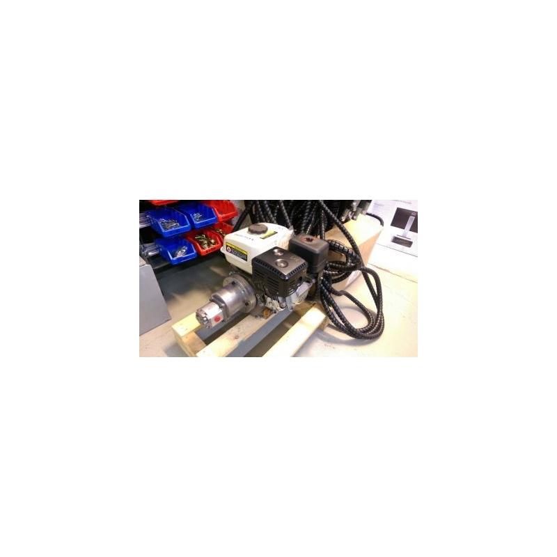 Bensiinimootoriga õlipumba komplekt 5,5HP pump 3,2cc, 10,5Lmin