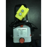 Mini powerpack for single acting cylinder, 12VDC, 2,1cc, 4,5L Tank, 160bar