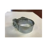 Strong wide hose clamp