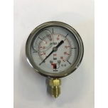 Pressure gauge (with glycerin) 10 bar
