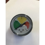Pressure gauge (with glycerin) for return flow 6bar