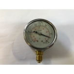 Pressure gauge / vacuum meter (with glycerin) -1 / 0 Bar