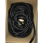 Hydraulic hose protection 35mm black PVC