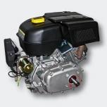 Bensiinimoottori 9,5 kW (13Hp) 2: 1 alennusvaihteella, sähkökäynnistin