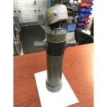 Telescopic cylinder with cowl 2*595*95 (single acting)