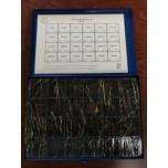Vaskseibide komplekt DIN 7603 A 635tk karbis