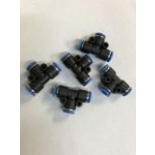 Pneumatic pipe quick connectors (Tees)