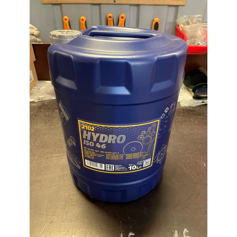 HLP 46 hydrauliöljy MANNOL - 10 litran tölkki