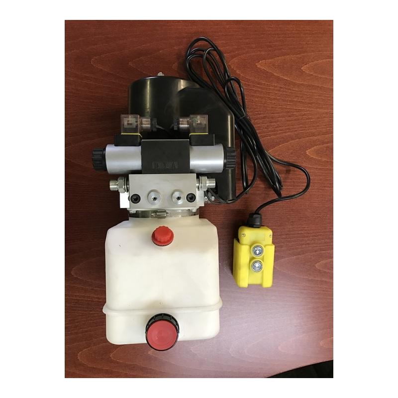 Mini Hydro 24VDC 1.6 кВт, 160-барный насос Cetop 3 клапана 2.1 куб. См