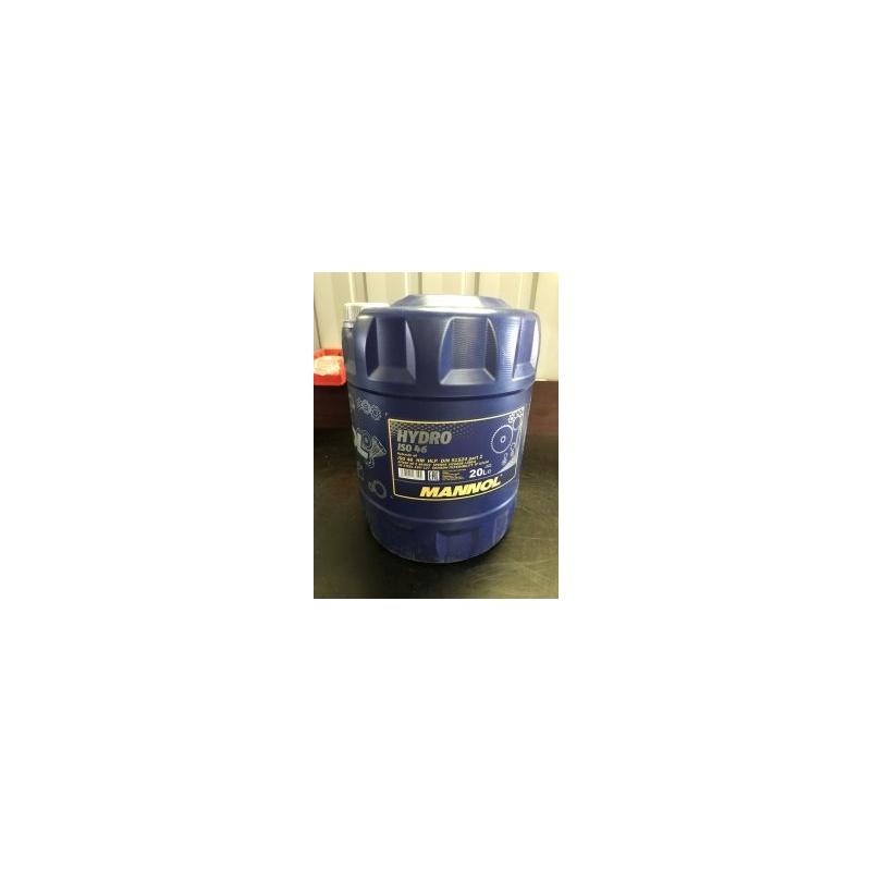 HLP 46 hydrauliöljy MANNOL - 20 litran tölkki
