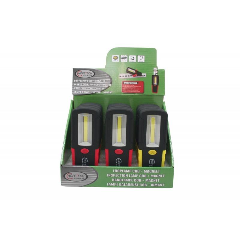 LED-taskulamppu magneetilla