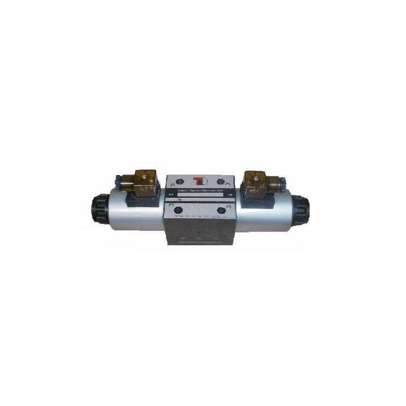 Sähköinen venttiili NG10 CETOP5 220V P ja T yhdessä