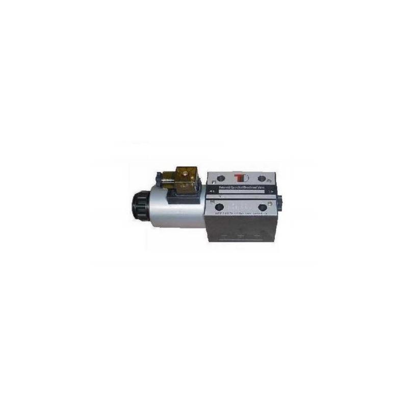 Sähköinen venttiili yksitoimisella NG10 CETOP5 24V kelalla 3A