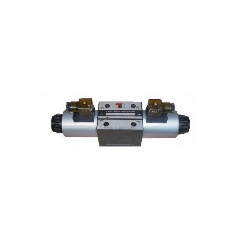 Электрический клапан NG10 CETOP5 24 В A, B, T вместе, P решение