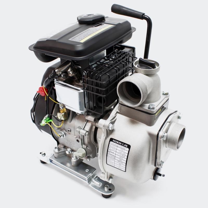 Водяной насос бензинового двигателя 1.4 kW (1.9Hp) 9m³/h 20m