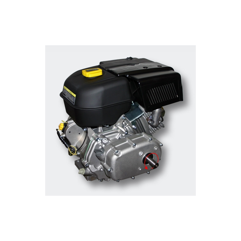 Petrol engine 9,5 kW (13Hp) with gearbox 2:1