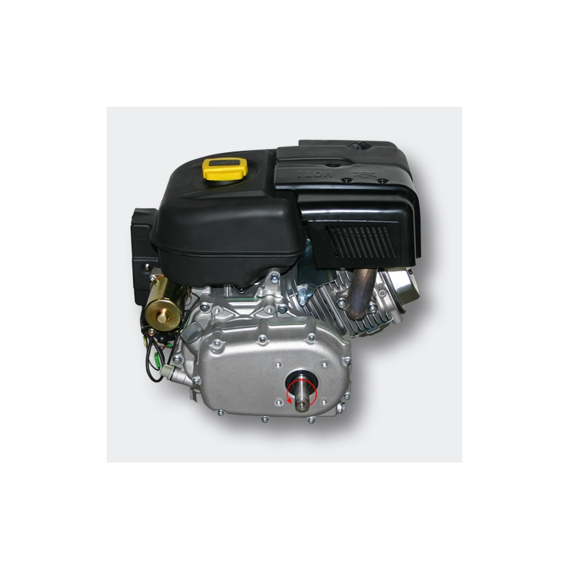 Petrol engine 6.6 kW (9Hp) with gearbox 2:1, e-start