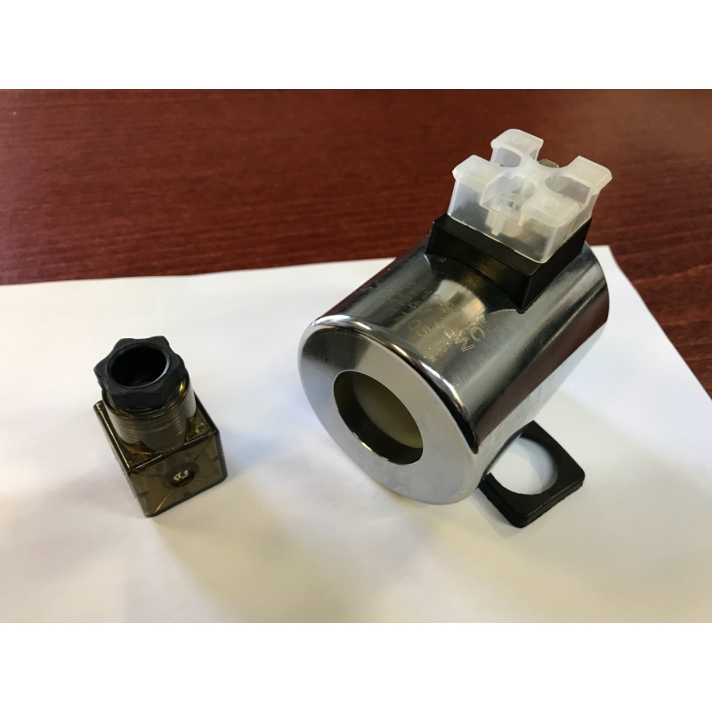 Electric valve side / coil 24V NG10 31,4mm