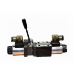 NG6 Solenoid valve with lever - Spool Nº3 110VAC