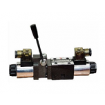 NG6 Solenoid valve with lever - Spool Nº6 24VDC