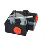 Compensated Flow Control Valve 3 Ways - Molten Body With Pressure Relief Valve 3/8""