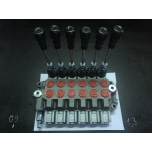 "Valve 6-sections 1/2"" inputs (Italy)"