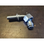 "Pressed fitting: M12 x 1.5 / 6mm pipe / 1/4 ""hose 90 ° angle"