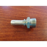 "Pressed fitting: M14 x 1.5 / 8mm pipe / 1/4 ""hose"