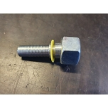 "Pressed fitting: M12 x 1.5 / 6mm pipe / 1/4 ""hose"