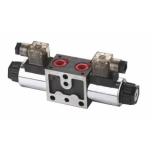 Järjestikku paigaldatav elektriline solenoid klapp Spool nr 1 NG6 12VDC YEAT