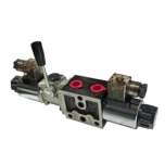 Series Solenoid Valve with lever Spool No. 1 NG6 24VDC YEAT