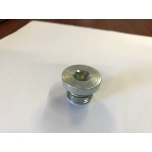 "Plug 1/4"" outer thread, inner HEX (with seal)"