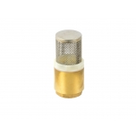 "Non-return valve for fuel hose 1 ""brass"