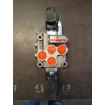 """Elektriline jagaja 3/8"""" 12VDC 45l/min 1 sektsioon"""