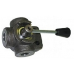 Hydraulic ballvalve (tees with ear) 3/8""