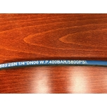 "Hydraulic hose 1/4"" 2SN - 1,2 meters (inner thread)"