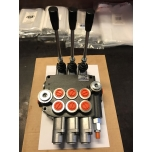 """Valve 3 sects. P80 1/2"""" inputs ,Floating positions (Bulgaaria)"""