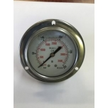Pressure gauge (with glycerin) with flange 250bar