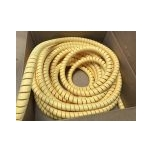 Hydraulic hose protection 30mm yellow PVC
