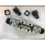 Sähköinen venttiili NG6 CETOP3 24V kytkentä-, 0- ja P-asennot yhdessä
