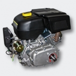 Petrol engine 9,5 kW (13Hp) with gearbox 2:1, e-start
